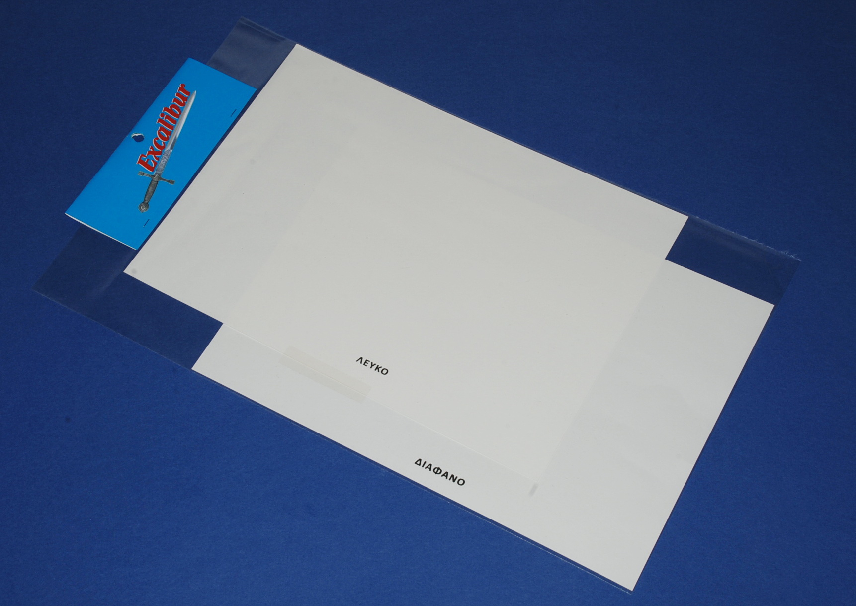 Excalibur CLEAR+WHITE decal film set (Φτιάξτε δικές σας χαλκομανίες)