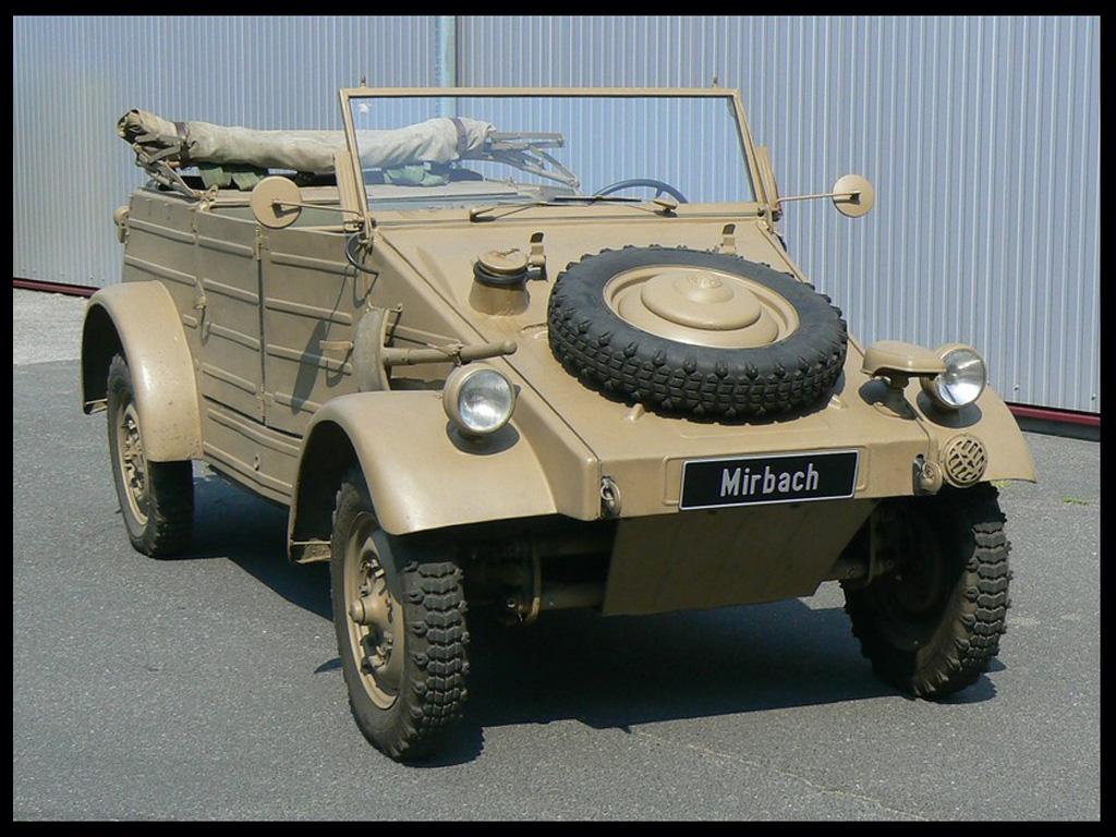 Kubelwagen Type 82 (DAK – Afrika Korps)
