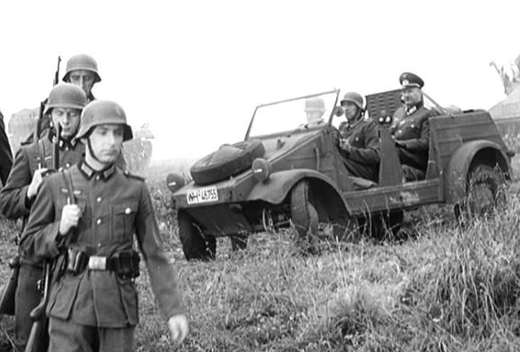 Kubelwagen historic photo