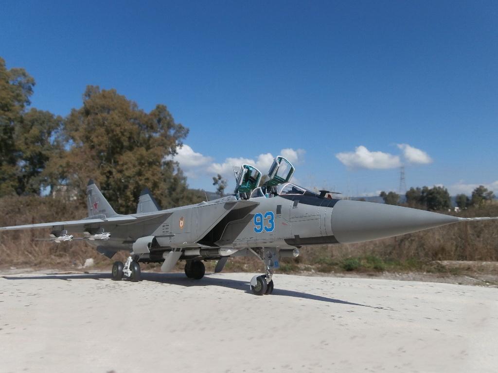 Mikoyan MiG-31BM/BSM Foxhound, AMK (AvantGarde Model Kits) 1/48