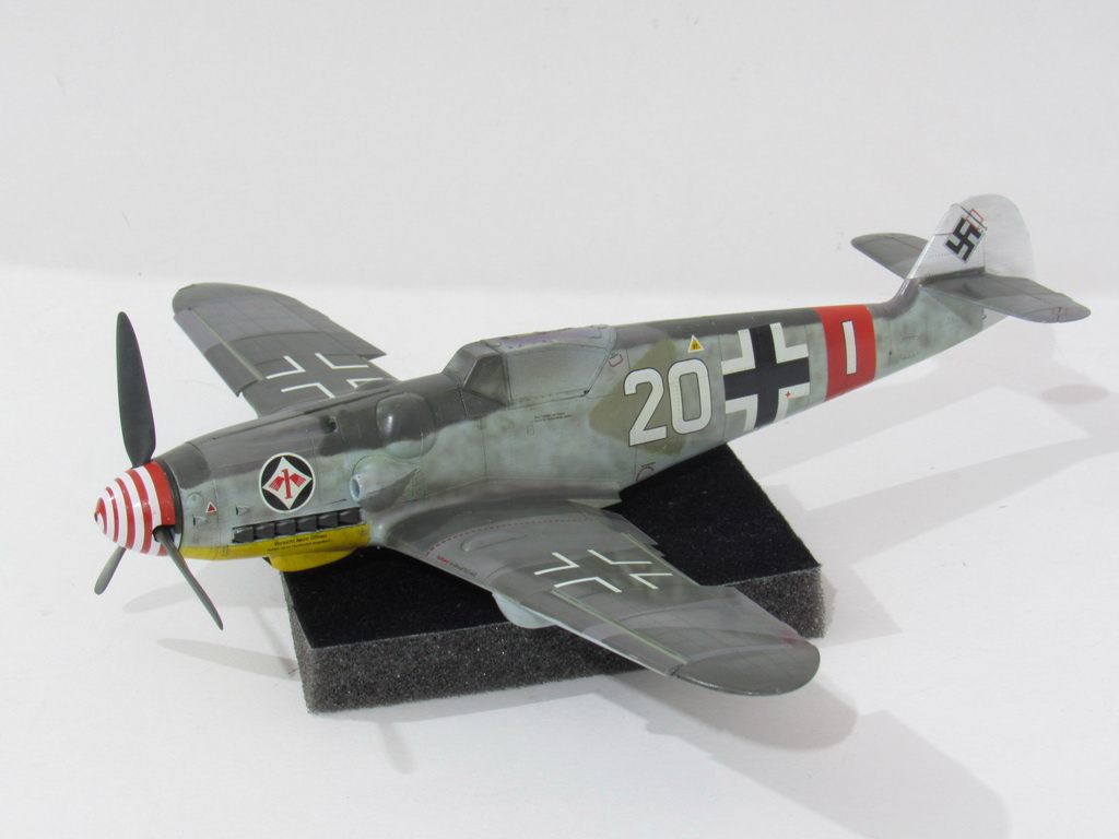 Messerschmitt Bf109G-6, Eduard 1/48 (2016 re-tooled kit No.82111)
