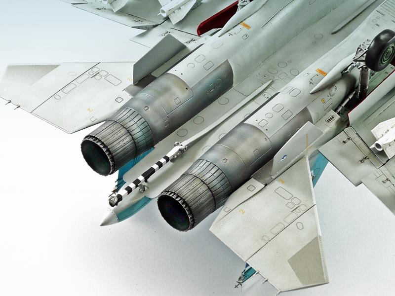 Sukhoi Su-33 Flanker D, Kinetic 1/48