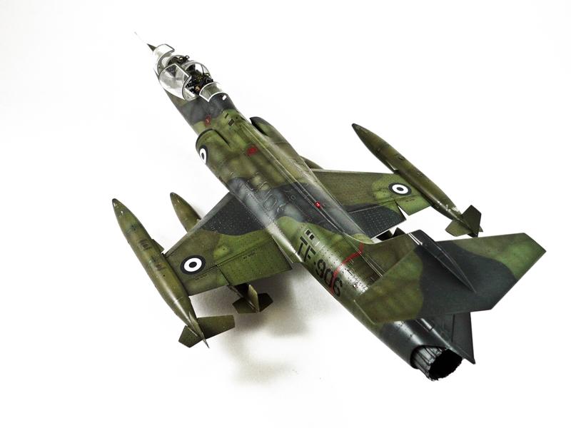 Lockheed TF-104G Starfighter, Hasegawa 1/48