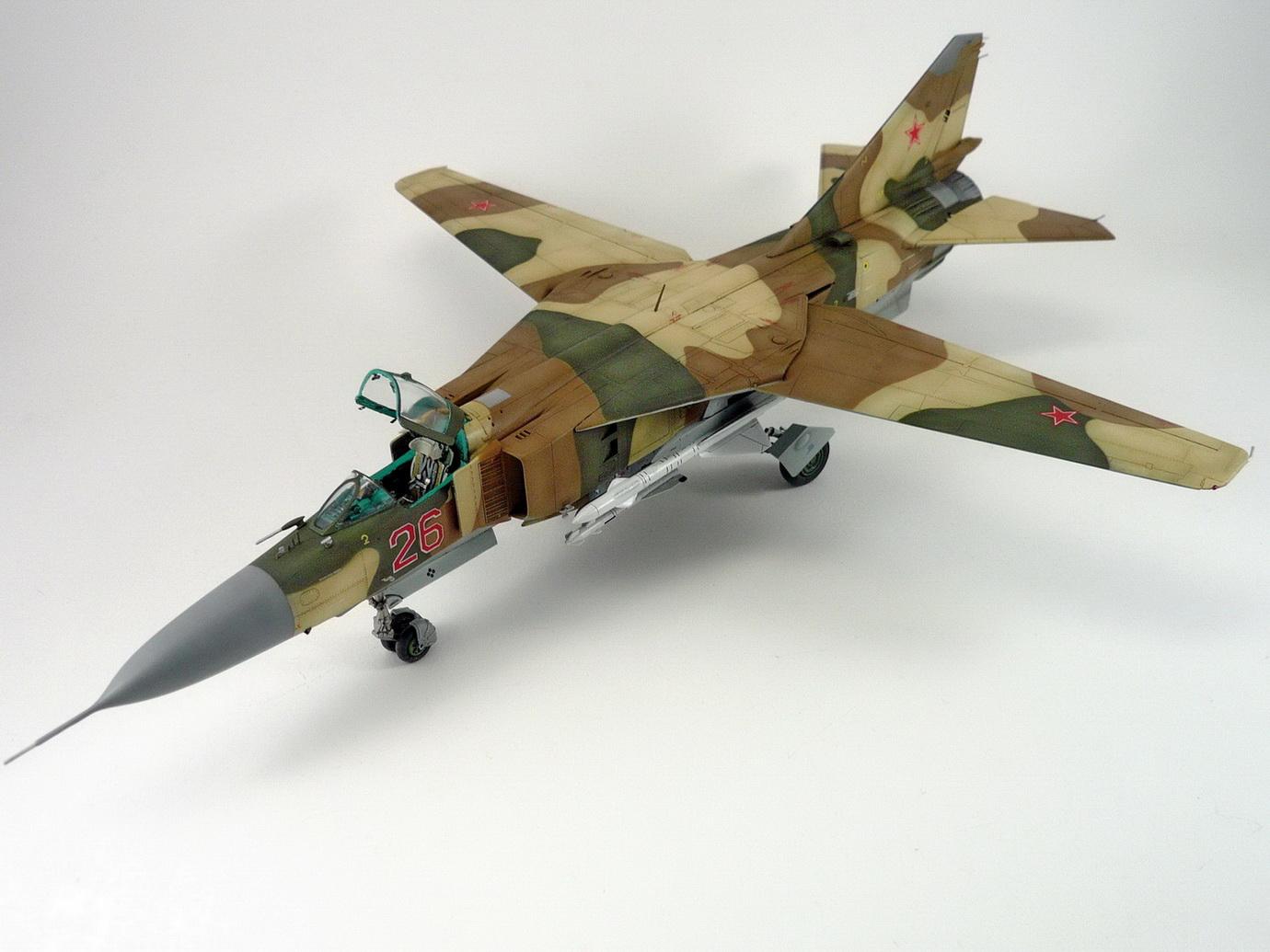 Mikoyan-Gurevich MiG-23ML, Trumpeter 1/48