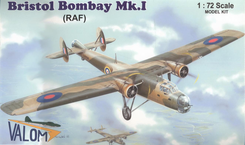 Bristol BombayMk.I   Valom1/72