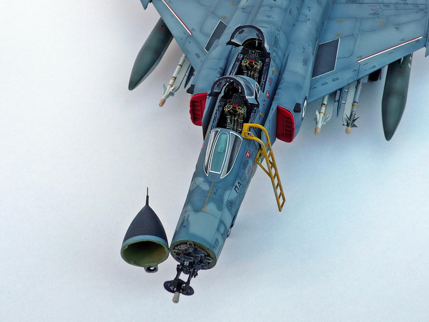 HAF F-4E Phantom II, Hasegawa 1/48