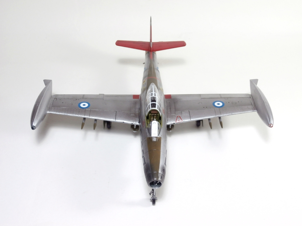 Republic F-84G Thunderjet HAF, Italeri 1/72 (kit no.1321)
