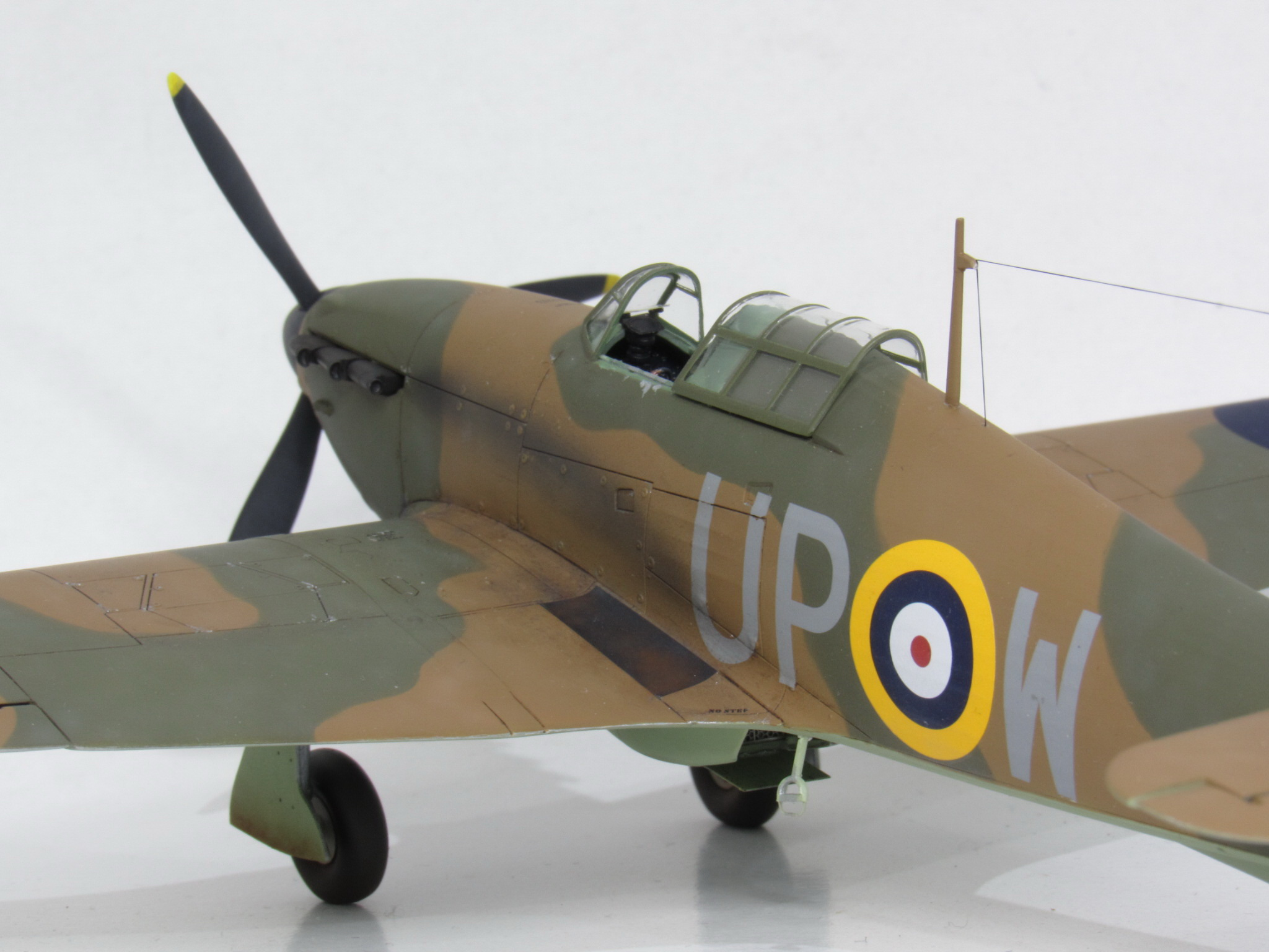 HAWKER HURRICANE Mk I, Airfix 1/48 (kit No. A05127)