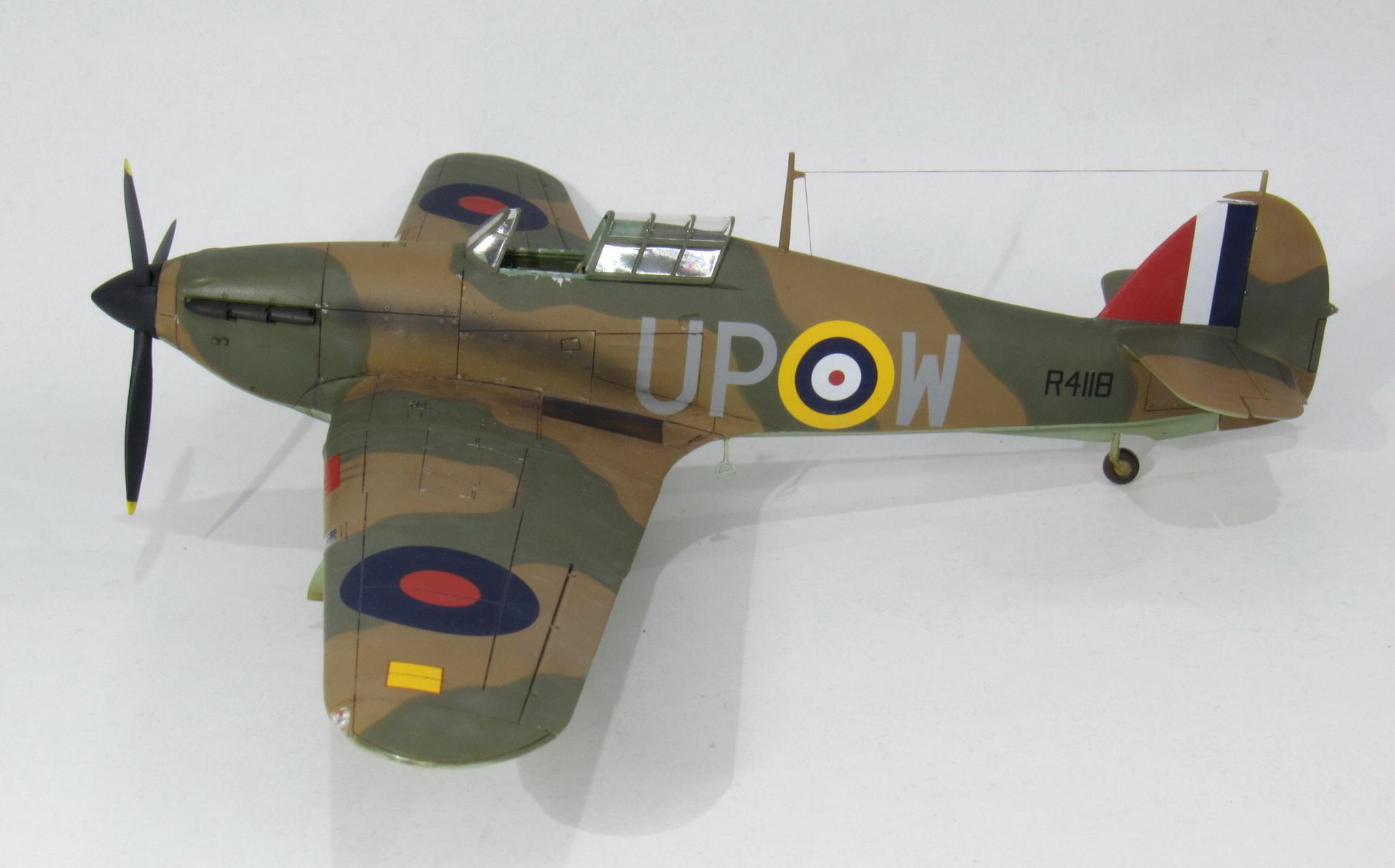 HAWKER HURRICANE Mk I, Airfix 1/48 (kit No. A05127)