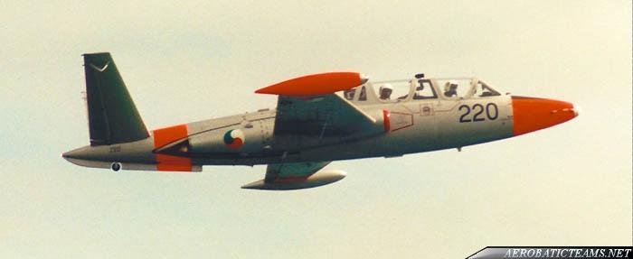 Fouga CM.170 Magister, Airfix 1/72 (Kit No. A03050)