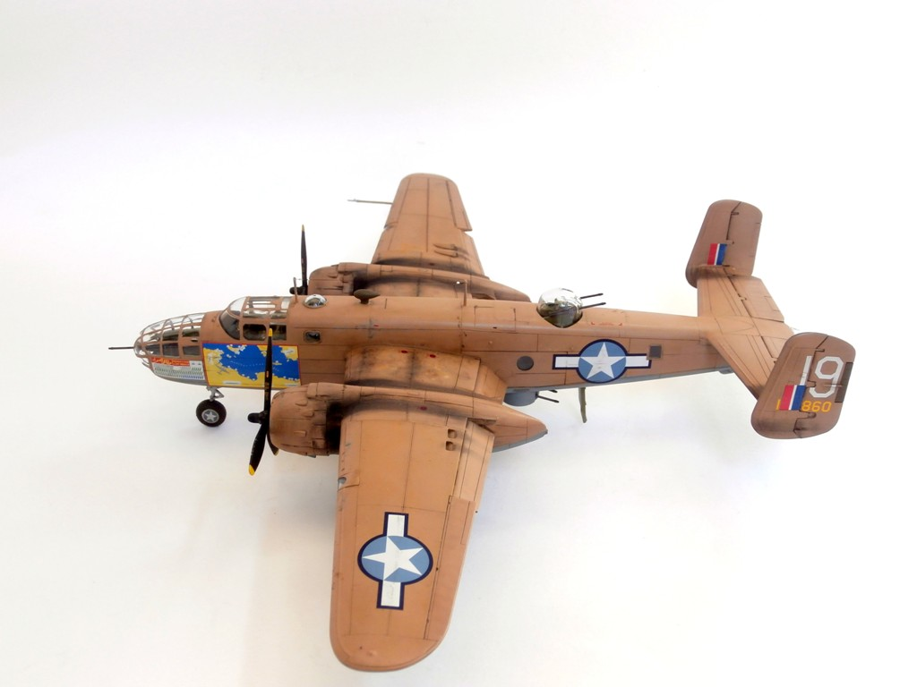 North American B-25C/D Mitchell, Airfix 1/72 (Kit No.A06015)