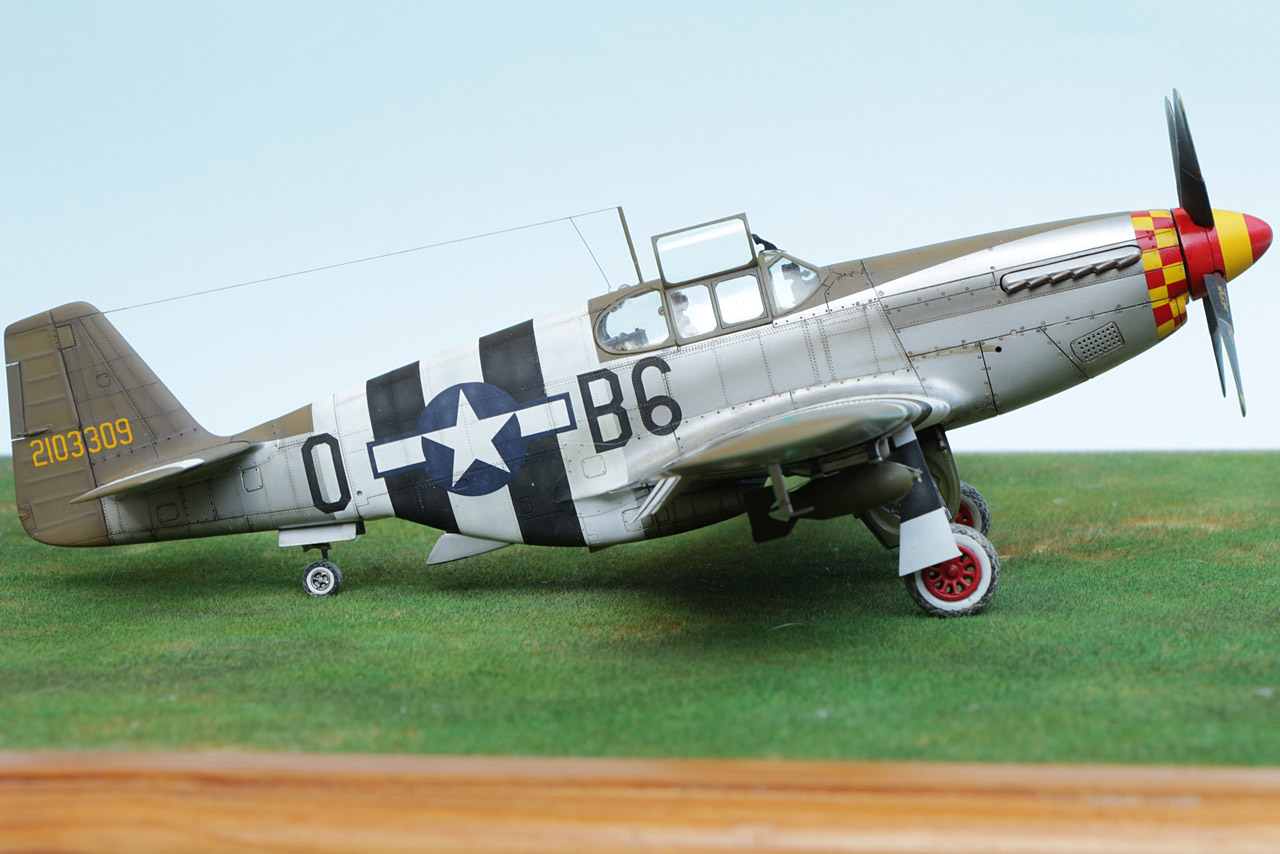 Νοrth American P-51C Mustang, Tamiya 1/48 scale