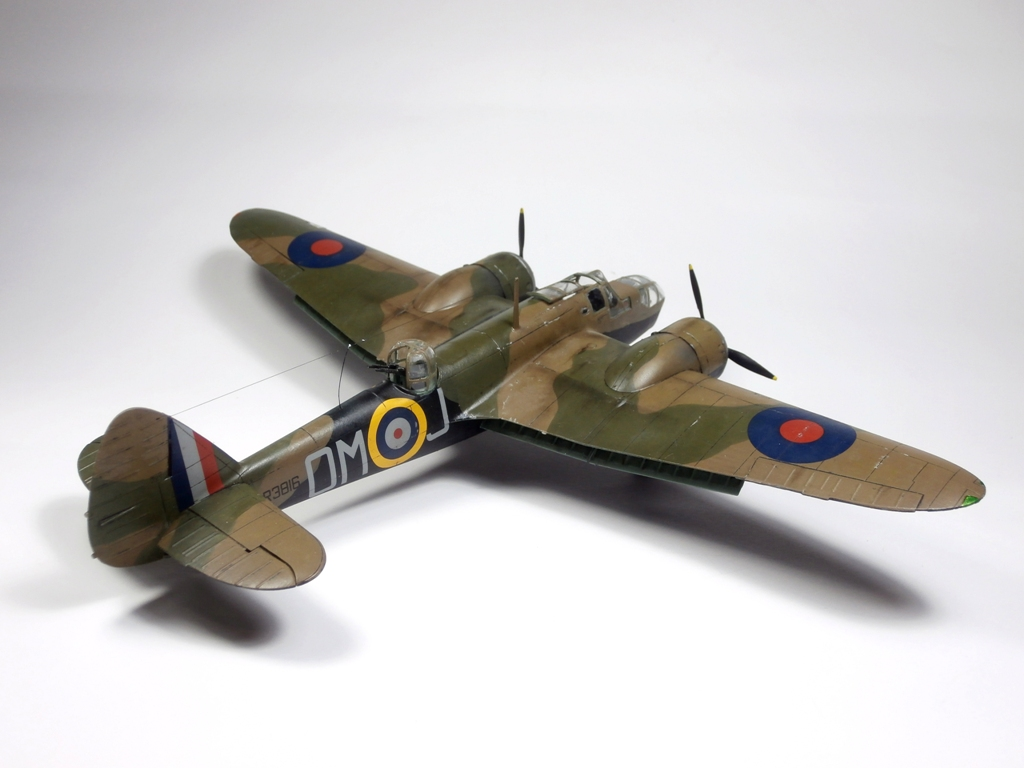 Bristol Blenheim IV, Airfix 1/72 (Kit No. A04061 – new tool 2017)