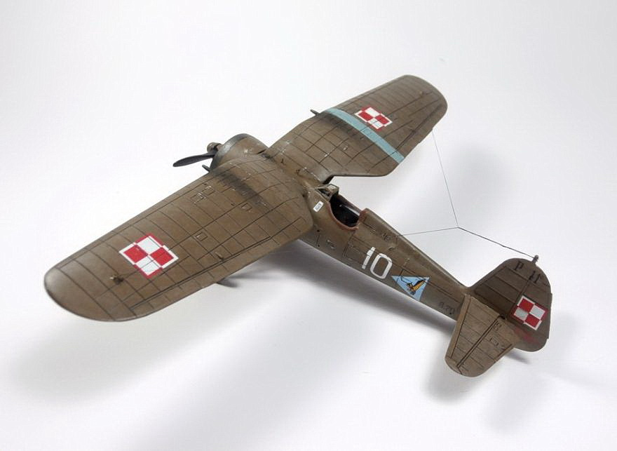 PZL P.11c Expert Set, ARMA HOBBY 1/72 (kit No.70015)