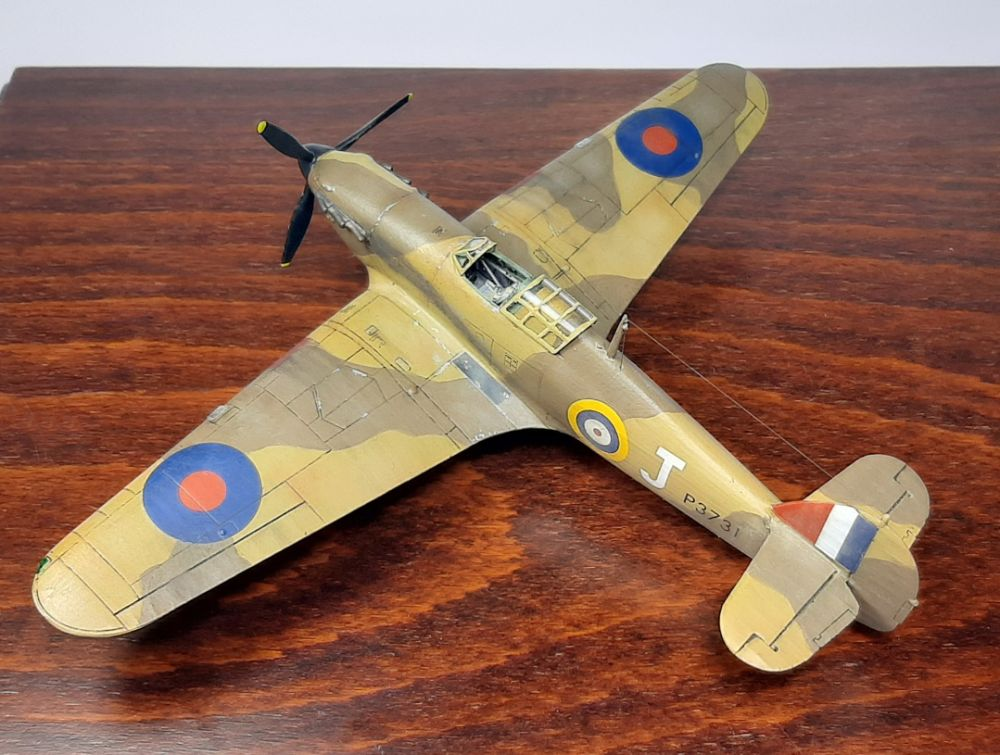 Hawker Hurricane Mk.I Tropical, ARMA HOBBY 1/72 (κωδικός 70021)