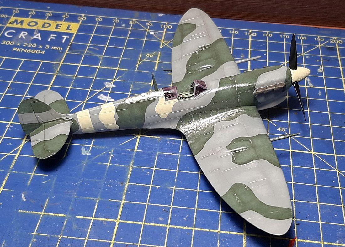 Supermarine Spitfire Mk.Vc, 1/72, Airfix (κωδικός A02108)