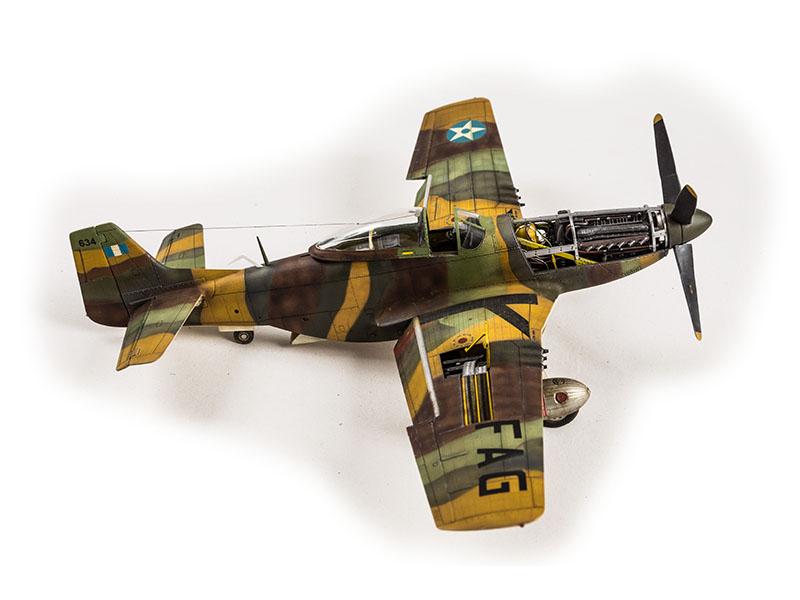 F-51 (P-51) Mustang  F.A.G.  1/32  Dragon