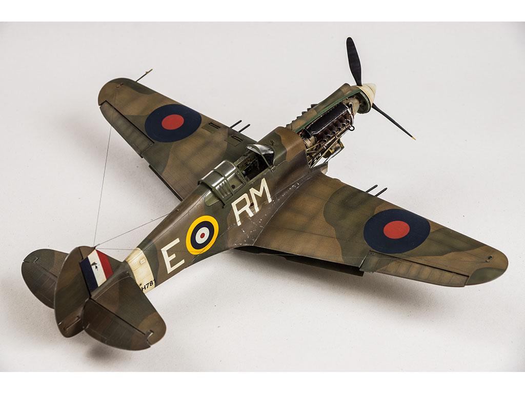 P-40B TOMAHAWK (RAF), TRUMPETER 1/32