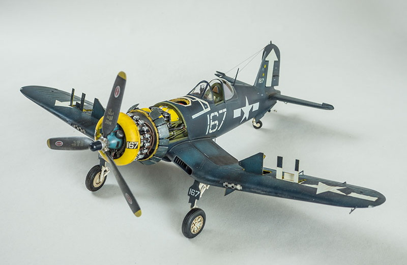 Vought F4U-1D Corsair, Trumpeter 1/32