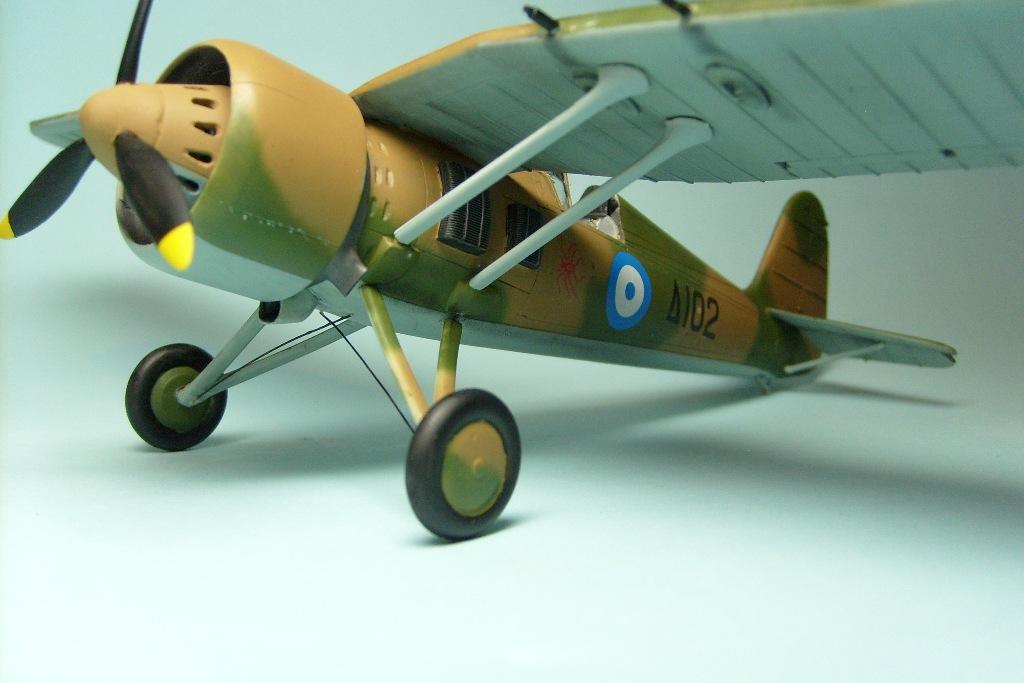 PZL P.24G ''Ελληνική Βασιλική Αεροπορία 1940-1941'', Mirage Hobby 1/48