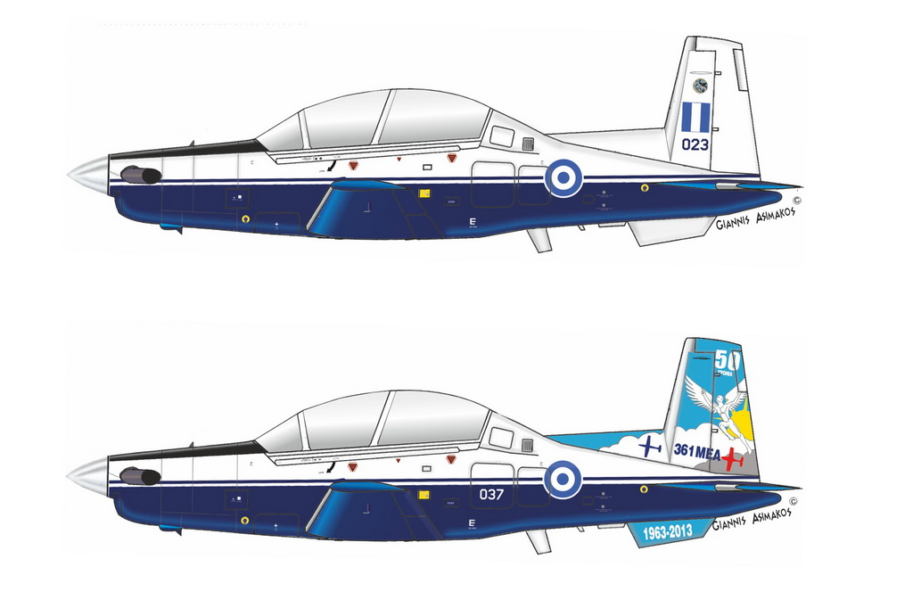 Beechcraft T-6A / NTA Texan II, Grand Models 1/72
