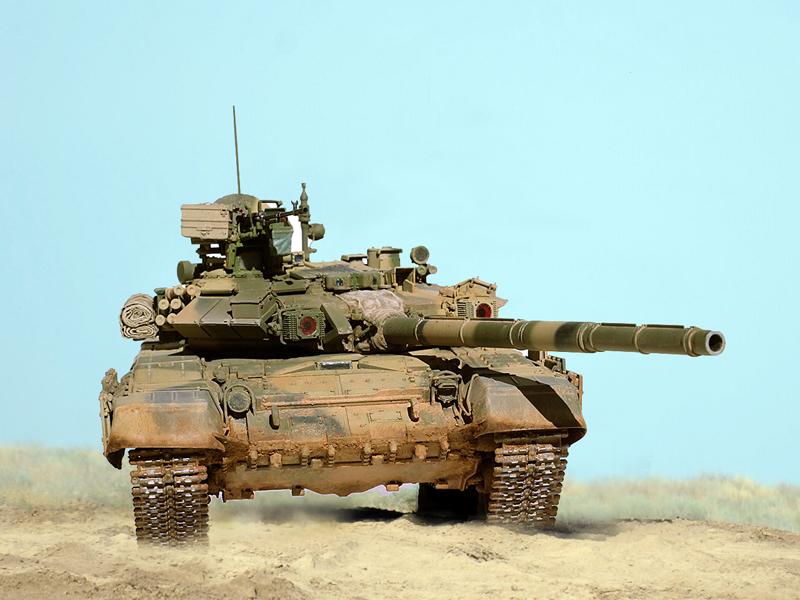 Τ-90 Russian main battle tank, Zvezda 1/35