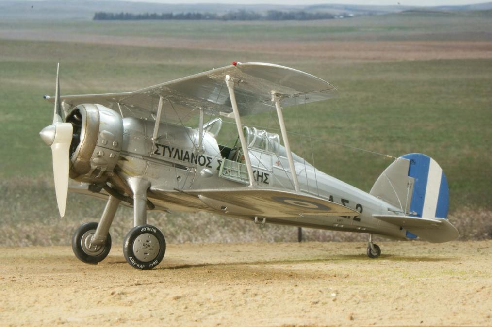 "Gloster Gladiator ""Στυλιανός Σαρπάκης"", Gavia 1/48"