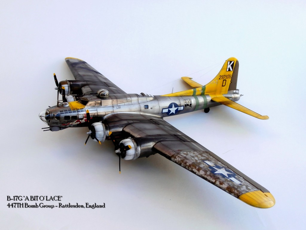 """Bombs Away!"", BOEING B-17G FLYING FORTRESS, REVELL 1/72 (κωδικός 04283)"