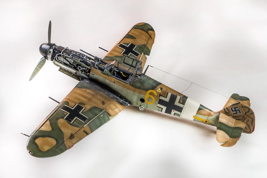 Messerschmitt Bf109G-2/TROP,  TRUMPETER 1/32 (kit No. 02295)