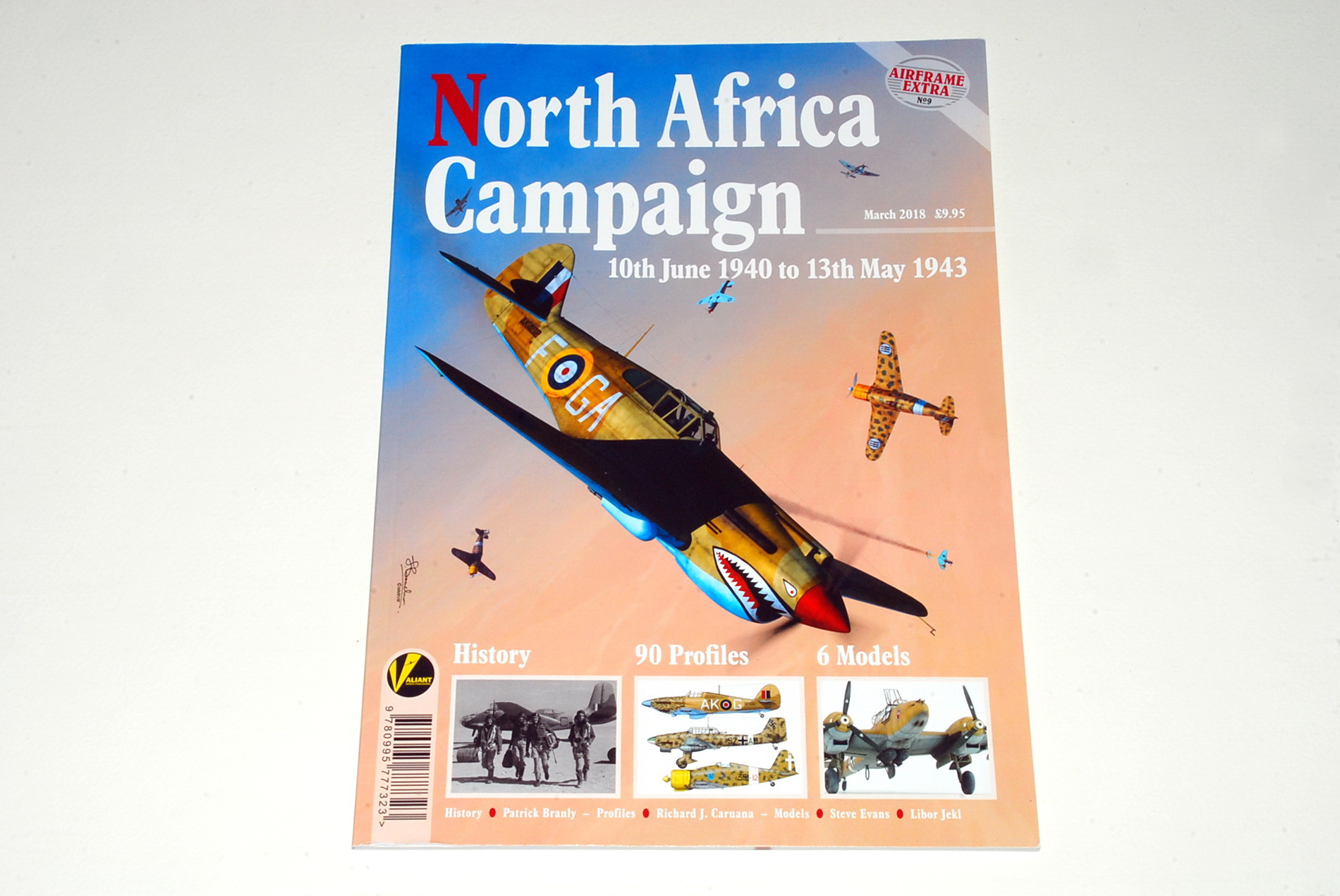 North Africa Campaign, 10/6/1940 – 13/5/1943, Airframe Extra No.9 (Valiant Wings)
