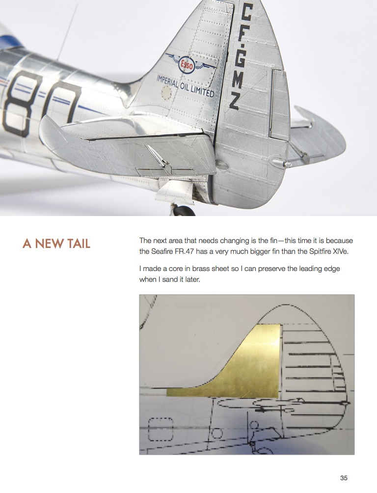 Spitfire XIVe Race #80, HpH Models 1/18 by Peter Castle, (ebook, KLP Publishing 2018)