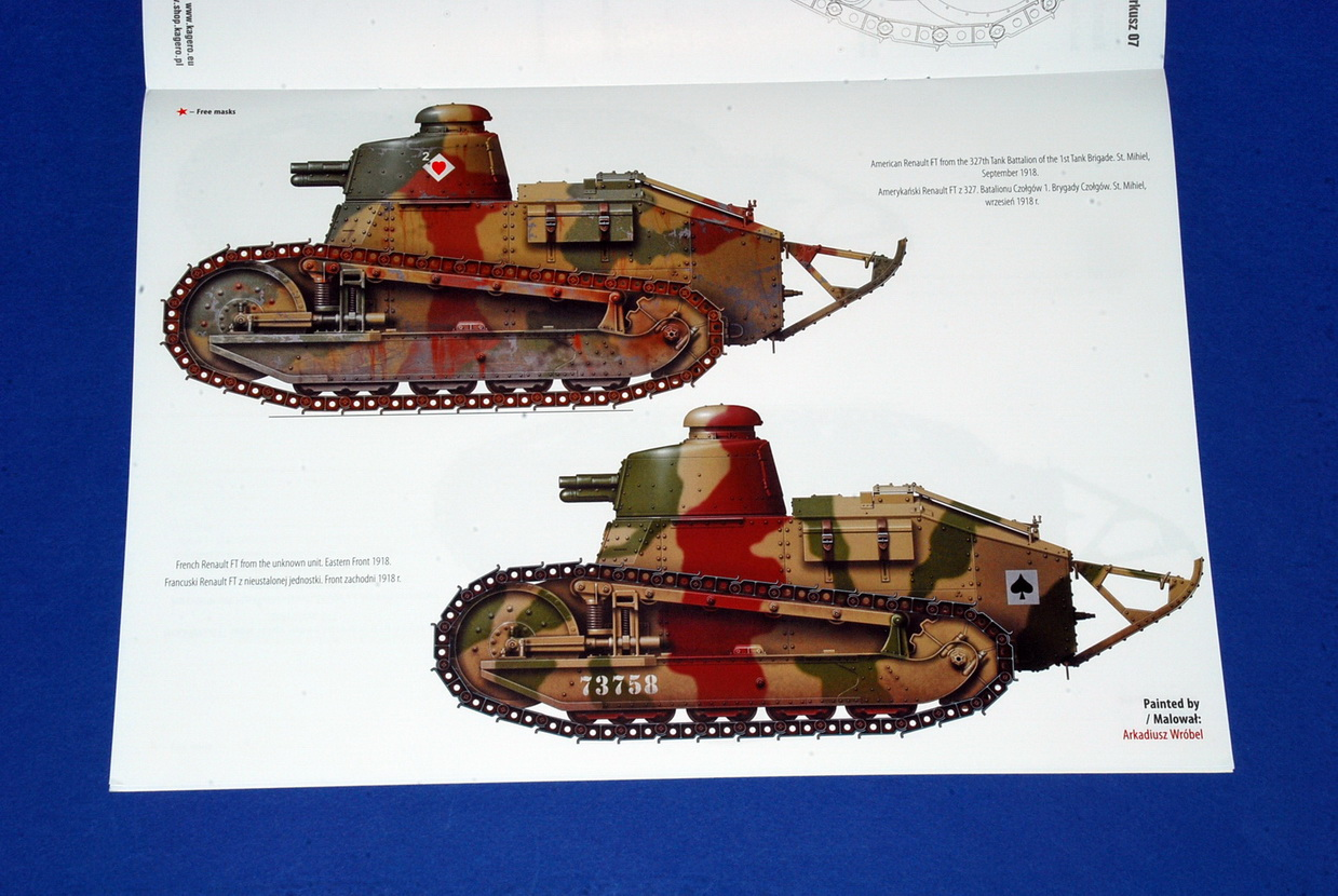 Renault FT & M1917, by Samir Karmieh, Topdrawings 47 (Kagero)