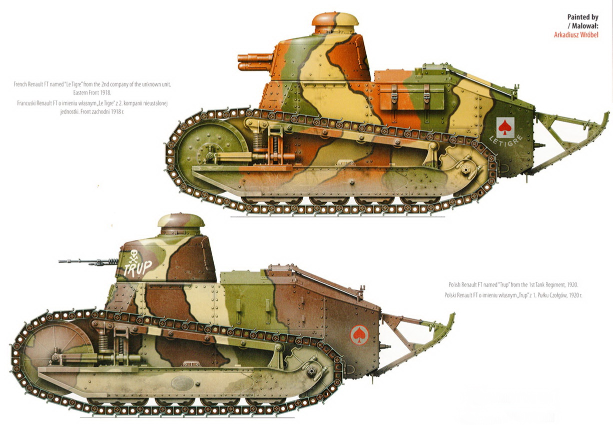 Renault Ft M1917 By Samir Karmieh Topdrawings 47 Kagero