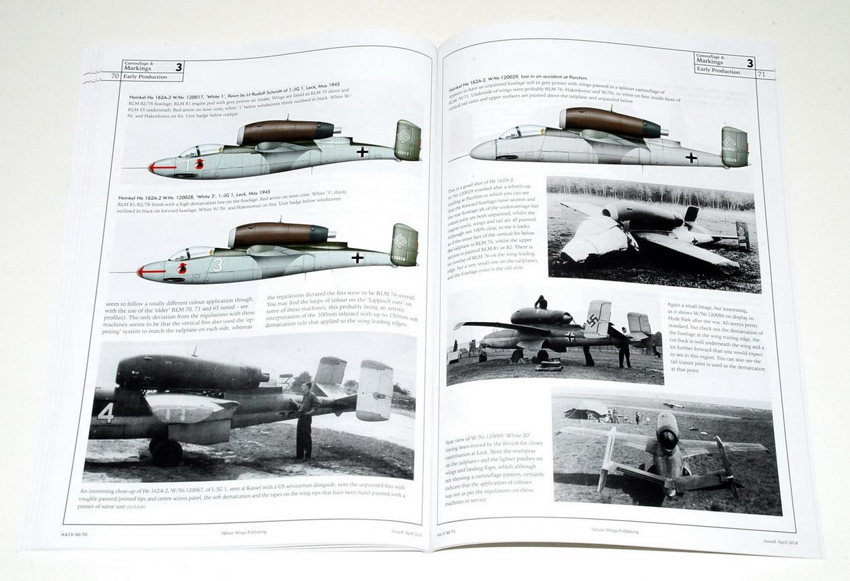 Heinkel He162 - Airframe Album No 13 - by Richard A. Franks (Valiant Wings, 2018)
