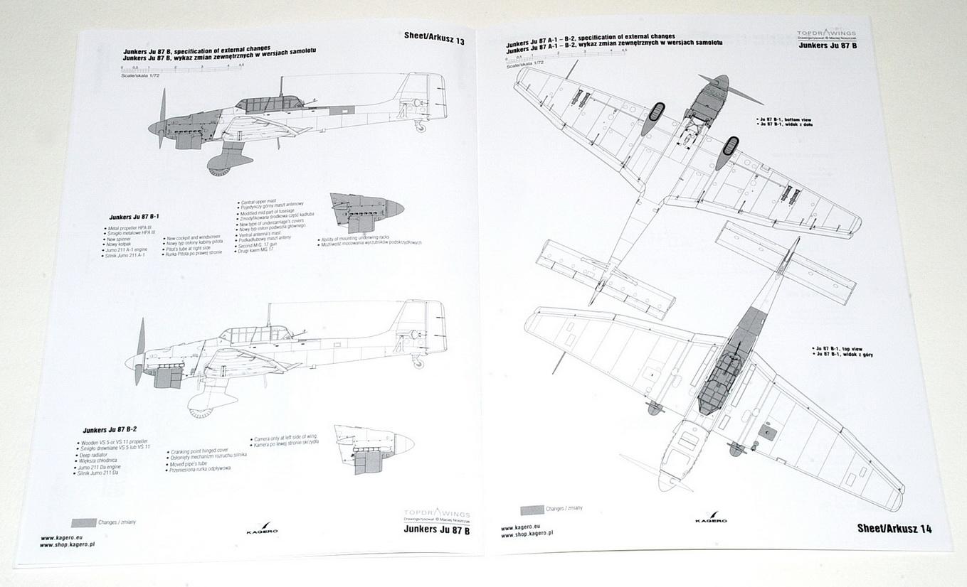 Junkers Ju87B Stuka, Topdrawings No.54 (Kagero, 2018)