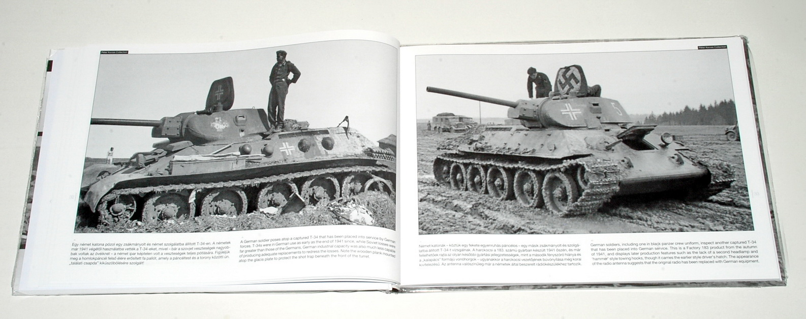 T-34 On The Battlefield 2, WWII Photobook Series Vol.17, by Neil Stokes (Peko Publishing)