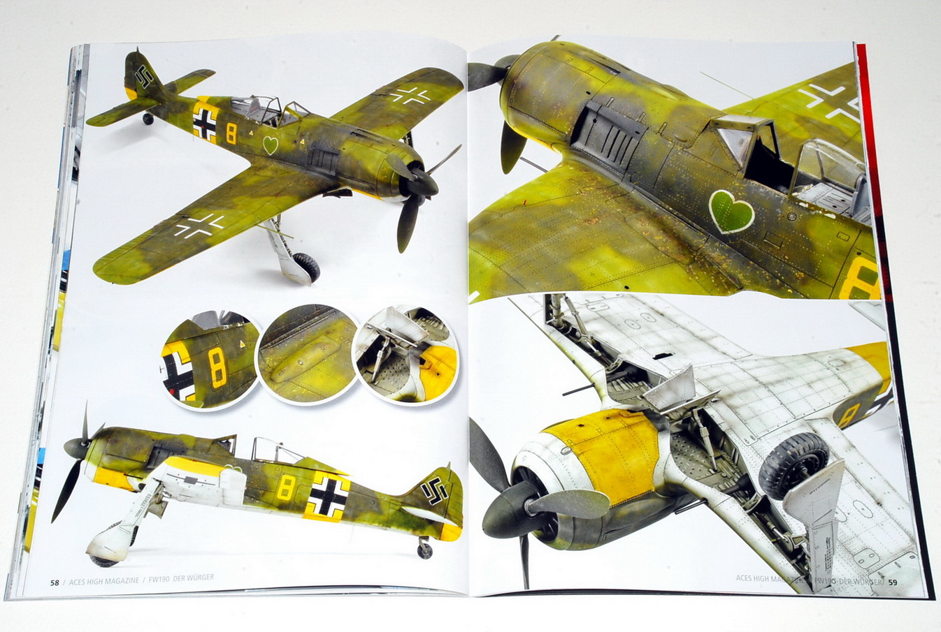 Fw190 Der Würger, Aces High Magazine issue 11 (AK 2921), AK Interactive