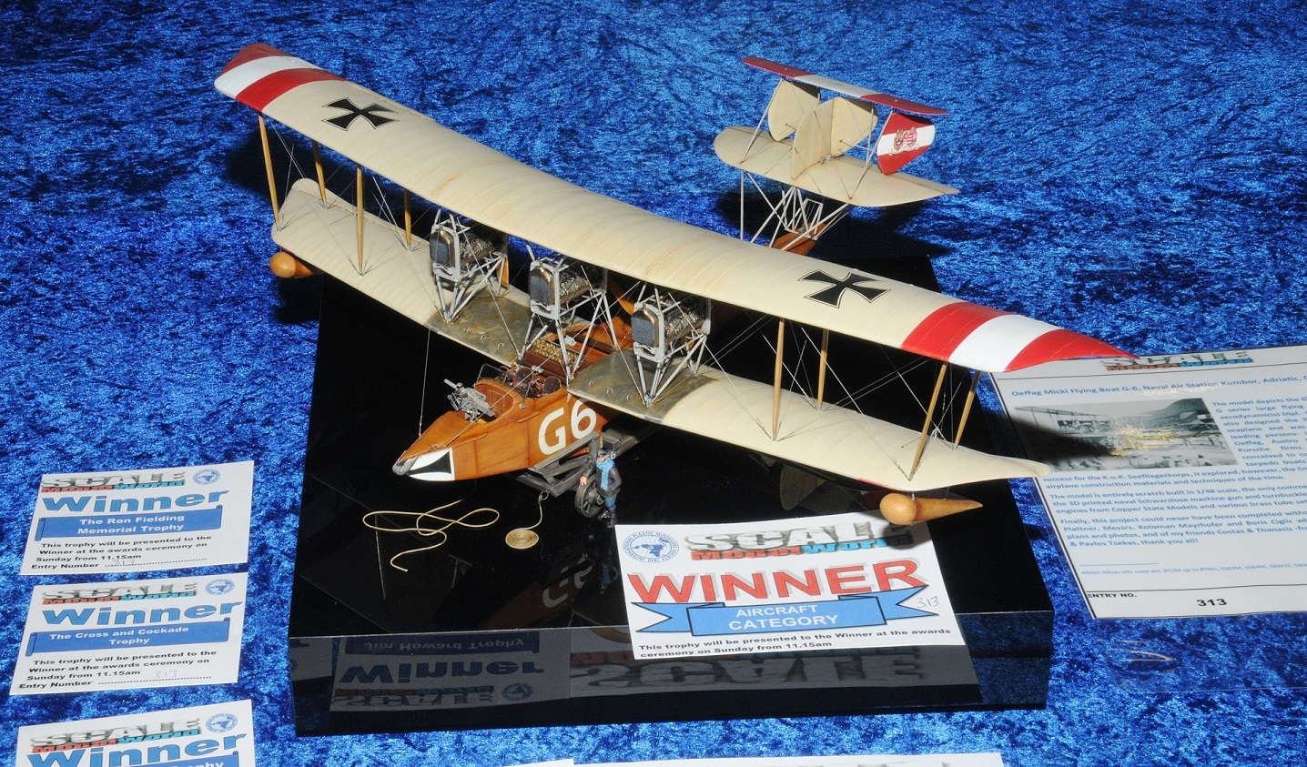 Scale ModelWorld 2018, Oeffag Mickl Flying Boat 1/48 (Part 3