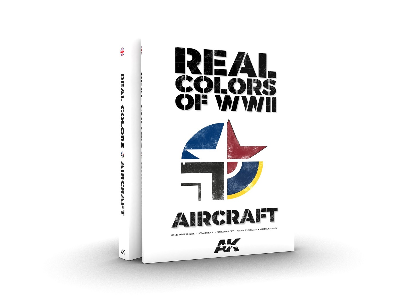 AK Interactive REAL COLORS AIR:133 new colors for Aircraft Models