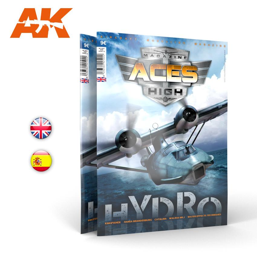 ACES HIGH Magazine, HYDROPLANES (Issue 12, AK2923), AK Interactive