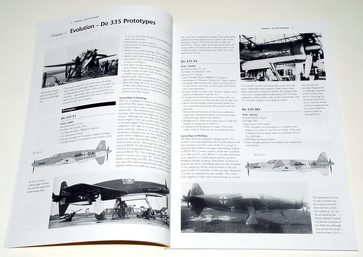 The Dornier Do 335 Pfeil, Airframe & Miniature 9 (2nd Edition), Valiant Wings