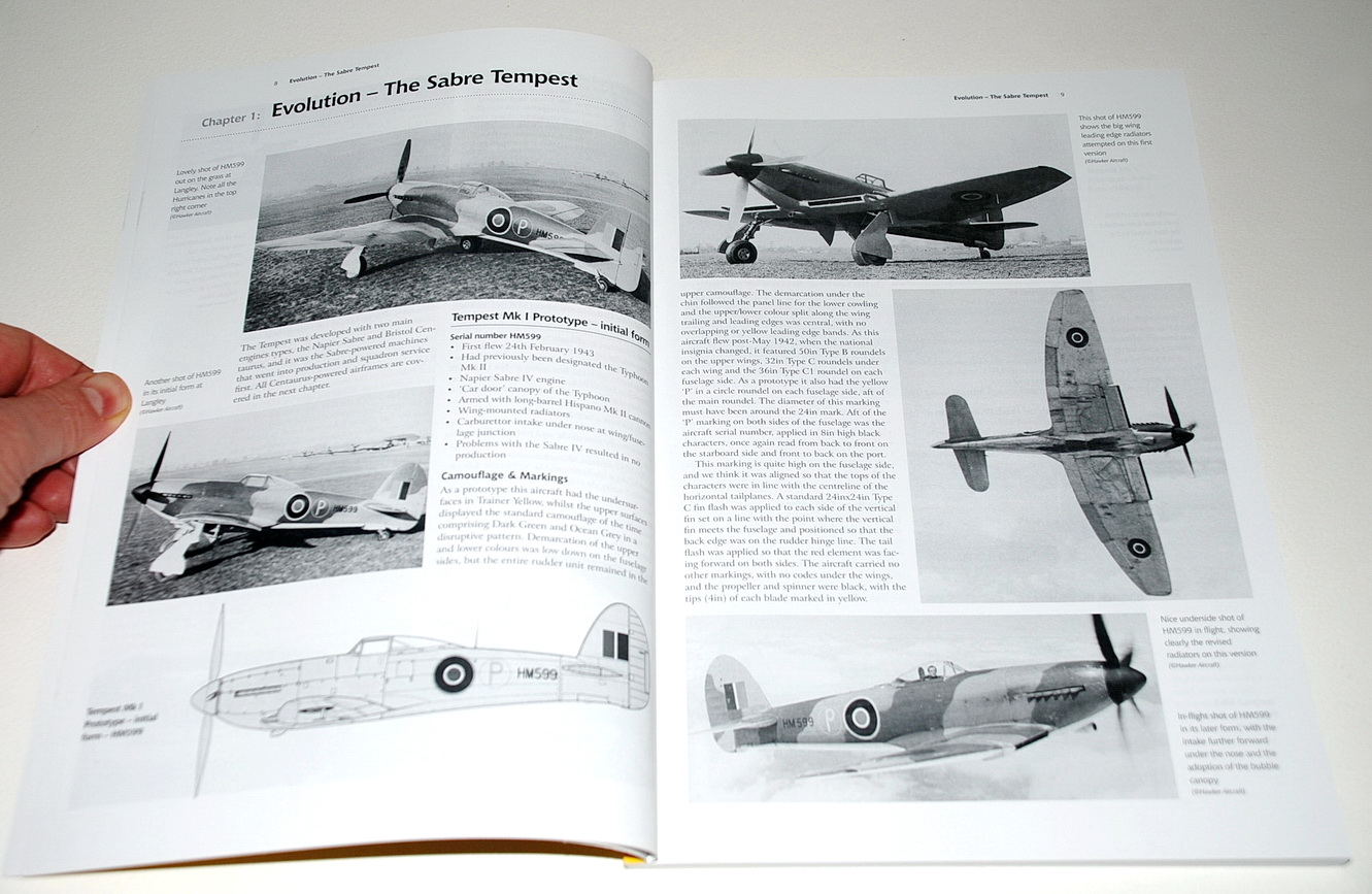 Airframe & Miniature No.4 Second Edition: The Hawker Tempest by Richard A. Franks (Valiant Wings)