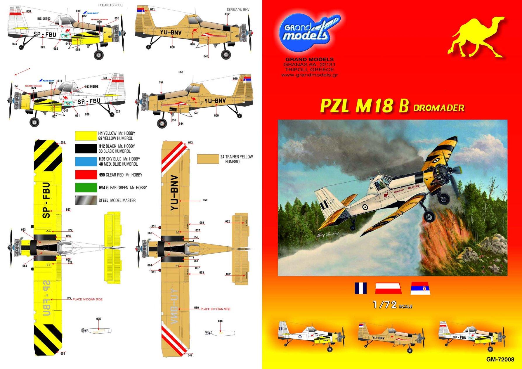 PZL M18 Dromader, Grand Models 1/72