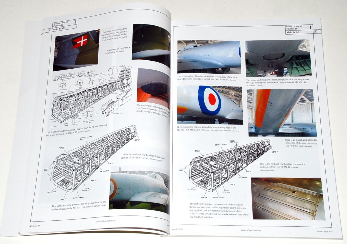 The Gloster/A.W. Meteor, Airframe Album 15 (Valiant Wings Publishing)