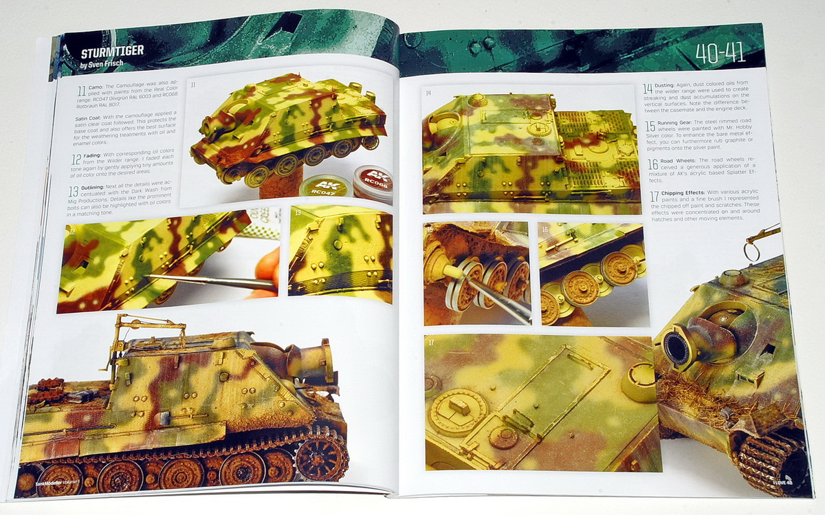 Tankmödeller,  AFV Models in Scale Volume 1 - I LOVE 48 (Mödellingbooks)