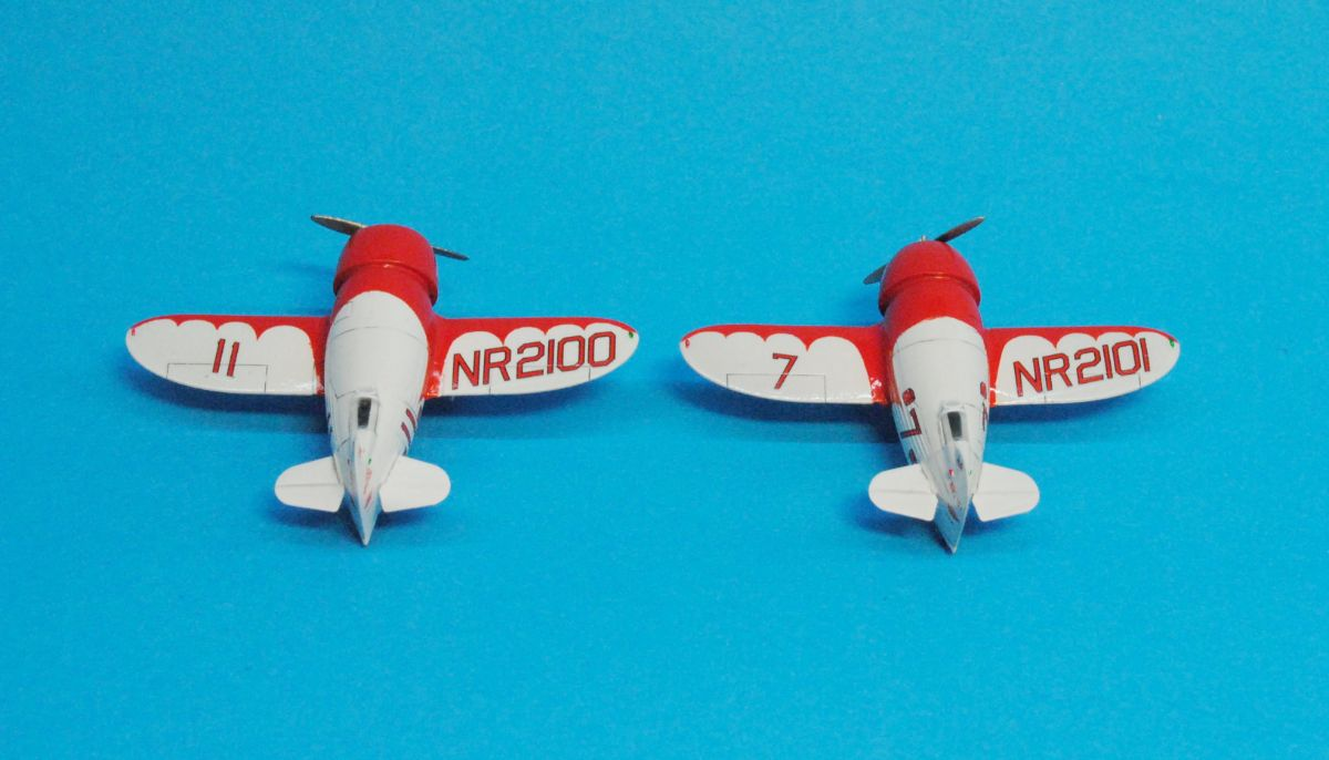 Gee Bee Super Sportster R-1 & R-2, Dora Wings 1/144 (κωδικός DW144-02)