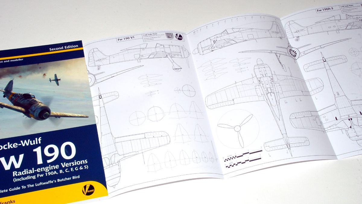 Fw190 Airframe & Miniature No.3 & 7 Updated/Expanded 2nd Edition, 2019, Valiant Wings