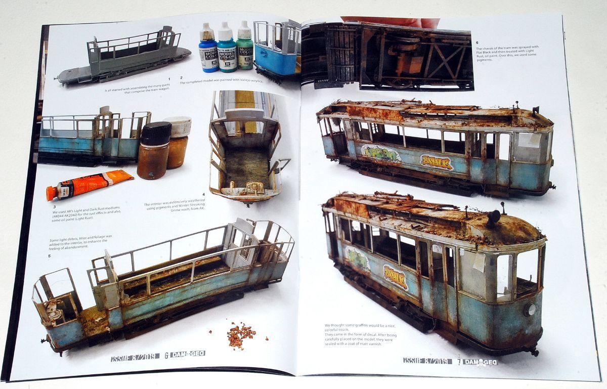 DAMAGEⱭ - Weathered & Worn Models Magazine (Issue 08, Abteilung 502 – AK Interactive)