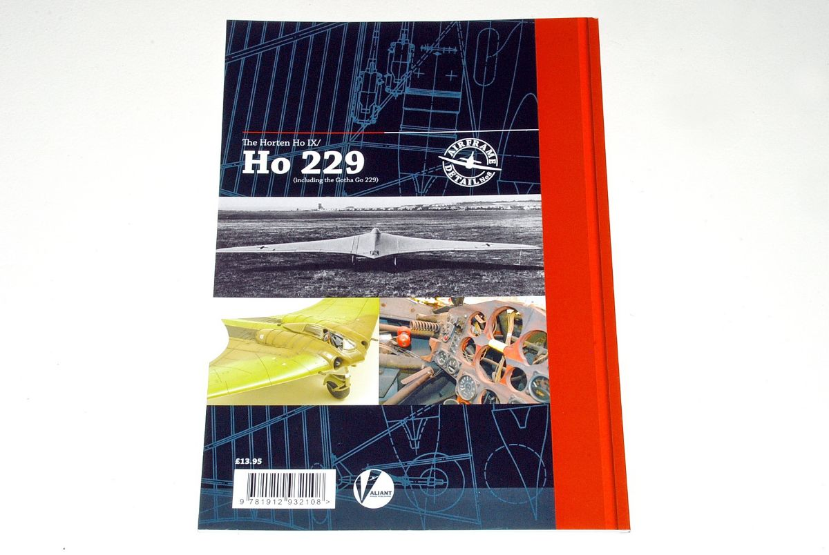 The Horten Ho IX / Ho 229, A Technical Guide, by Richard A. Franks, Airframe Detail No.8 (Valiant Wings 2020)