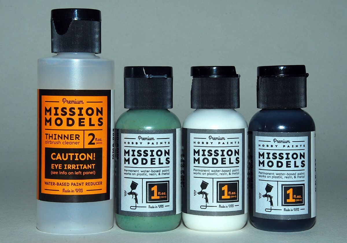 MISSION MODELS Water-based paints, made in USA